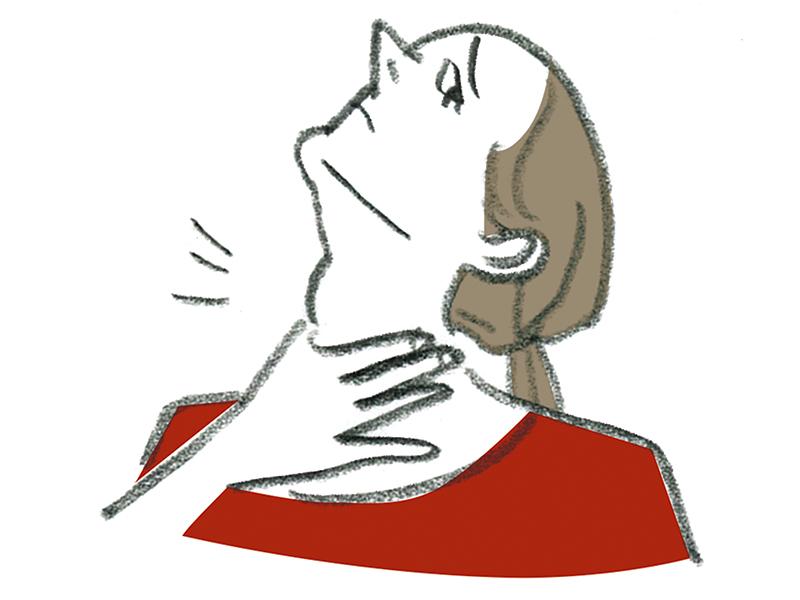 """[更年期障害かと思ったら……]40代で""""首太り""""なら甲状腺の病気を疑うべし!パセドウ病と橋本病についても解説"""