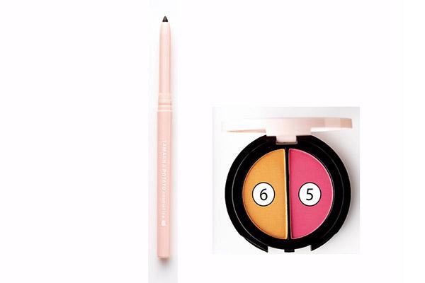 3. オレンジパウダーで明るくカラーリング