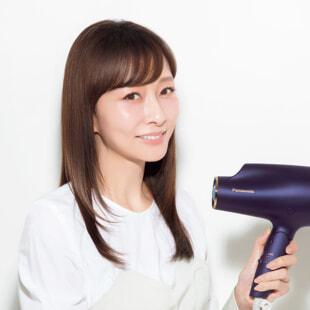 石井美保さんの美髪の秘密はパナソニックビューティ「ヘアード...