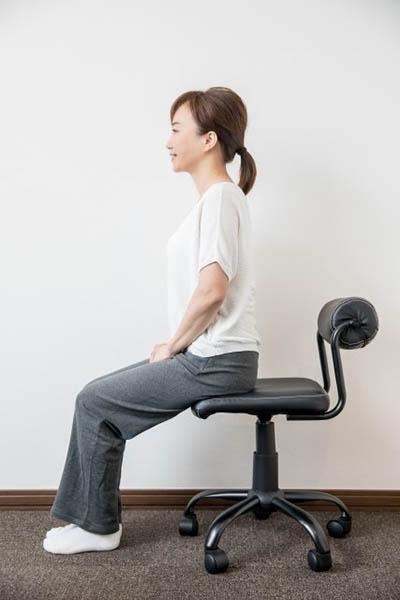 むくみ対策/座るときの姿勢: