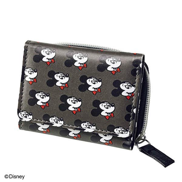 [付録]ミッキーマウスをデザインしたリュクスなミニ財布が登場! mini 2/1発売号