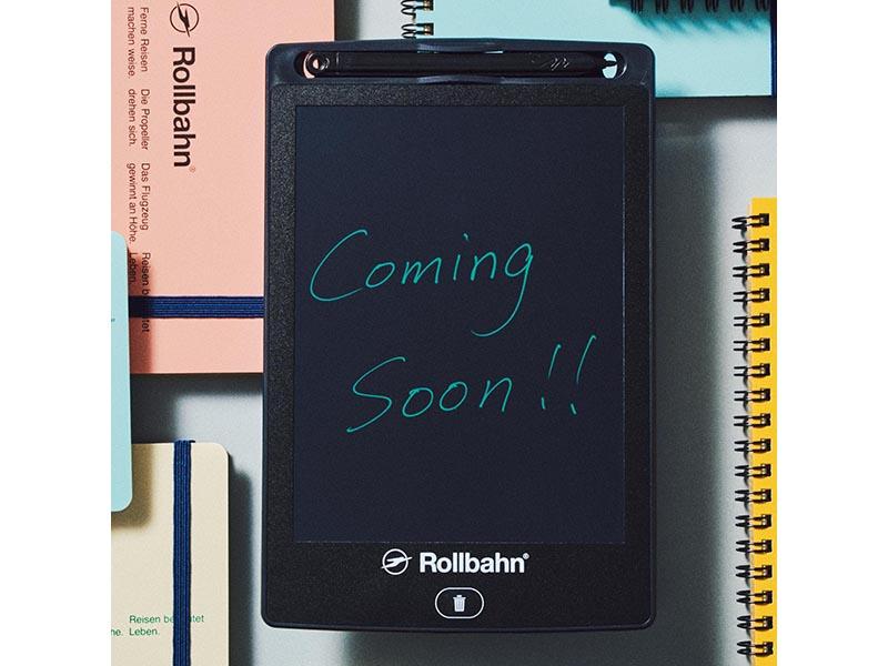 [付録]おしゃれ文具「Rollbahn®」電子メモ付きで980円! smart 4/24発売号
