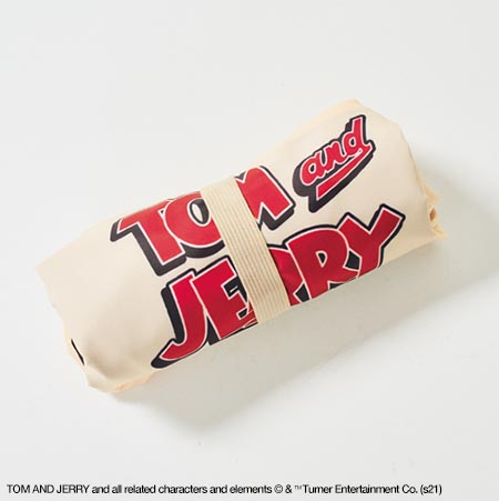 [特別付録]保冷機能付き、人気アニメ「トムとジェリー」のビッグエコバッグ!『steady.』5/7発売予定号