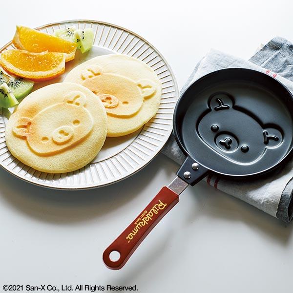Rilakkuma[ リラックマ ] おうち時間が楽しくなる!リラックマのパンケーキパン