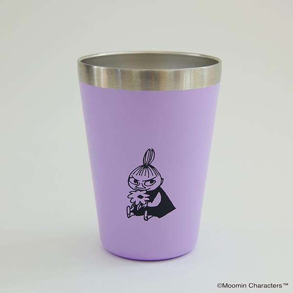 『MOOMIN CUP COFFEE TUMBLER BOOK リトルミイ PURPLE ver.』