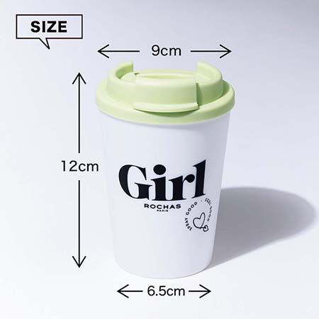 サイズ:高さ12×直径9cm(最大値)、容量:300mL