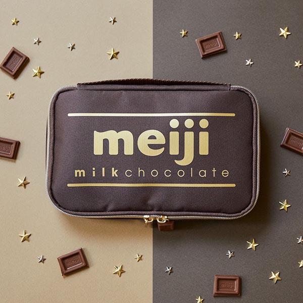 マルチメディア『明治ミルクチョコレート95th Anniversary マルチポーチBOOK』